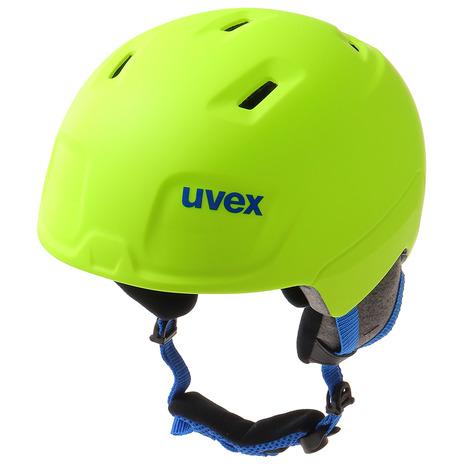 【5/25 0:00-23:59 5のつく日エントリーで5倍~】 ウベックス(UVEX) ヘルメット manic pro YEL 56.6.224.6105 (Jr)