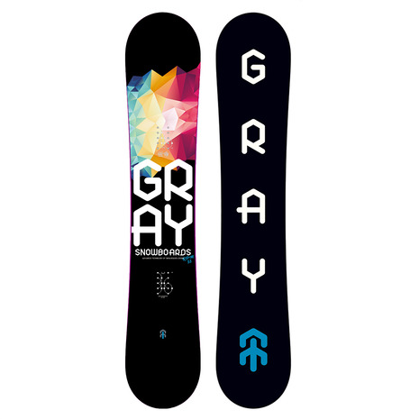 GRAY(GRAY) 特典付き 【早期予約・12月中旬発送予定】【特別割引】 スノーボード板 R.P.M. 53-M ZG037 (Men's)