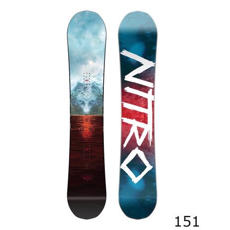NITRO 【早期受注対象品・12月中旬発送予定】【特別割引】 スノーボード板 BEAST (Men's)
