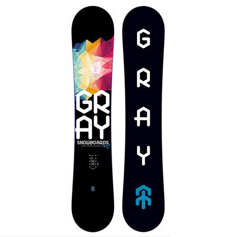 GRAY(GRAY) 特典付き 【早期予約・12月中旬発送予定】【特別割引】 スノーボード板 R.P.M. 56-M ZG038 (Men's)