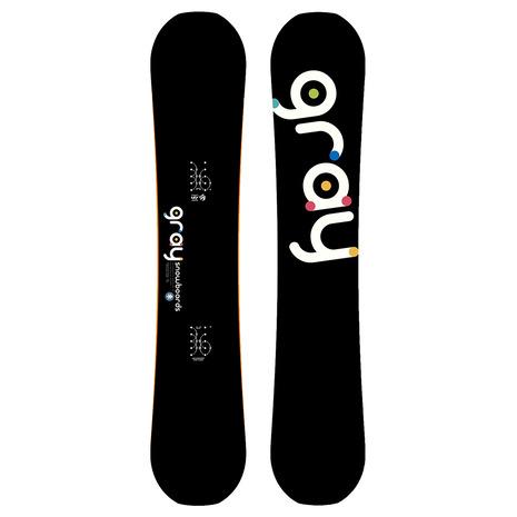 GRAY(GRAY) 特典付き 【早期予約・12月中旬発送予定】【特別割引】 スノーボード板 TRICKSTICK 44 ZG021 (Men's)