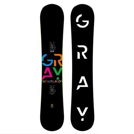GRAY(GRAY) 特典付き 【早期予約・12月中旬発送予定】【特別割引】 スノーボード板 SOLID 46 ZG041 (Men's)