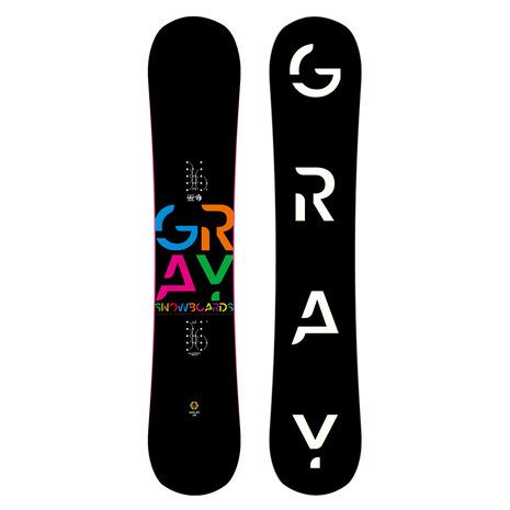 GRAY(GRAY) 特典付き 【早期予約・12月中旬発送予定】【特別割引】 スノーボード板 SOLID 38 ZG039 (Men's)