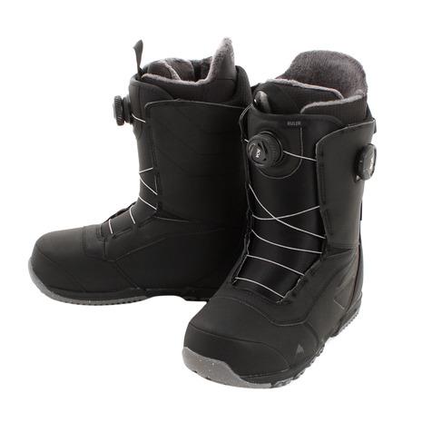 スノボ スノーボード ブーツ メンズ バートン(BURTON) スノーボード ブーツ RULER BOA BLACK 20317100001 (メンズ)