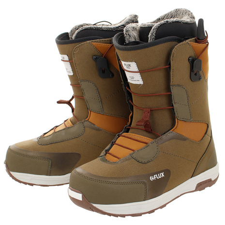 FLUX ボードブーツ GTO-Speed Army/Brown X8TAS (Men's)