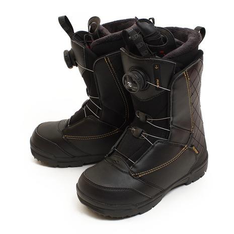 サロモン(SALOMON) 18 PEARL BOA BLK 398689 スノーボード ブーツ レディース (Lady's)