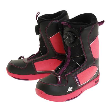 ケイツー(K2) B150302001 16LIL KAT BLACK スキーブーツ (Jr)