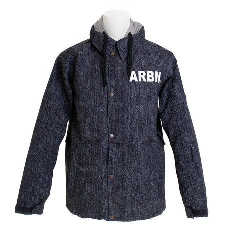 エアボーン(ARBN) COACH ボードジャケット ABJ8102 DENIM スノーボードウェア メンズ (Men's)