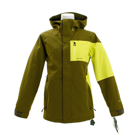 ボルコム(Volcom) L GORE-TEX ジャケット H19G0651904 MOS スノーボードウェア メンズ (Men's)