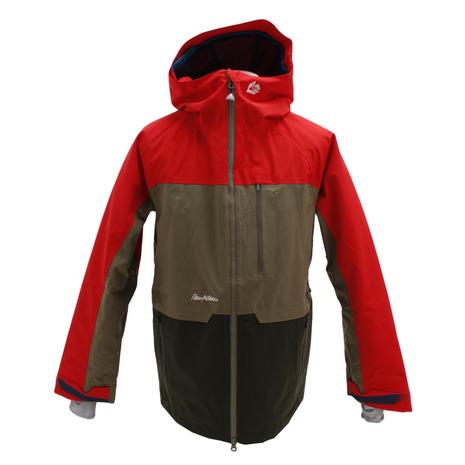 REW KAMIKAZE ジャケット 21 RED スノーボードウェア メンズ (Men's)
