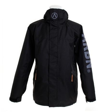 エアボーン(ARBN) SOLID ボードジャケット ABJ8101 BLACK スノーボードウェア メンズ (Men's)