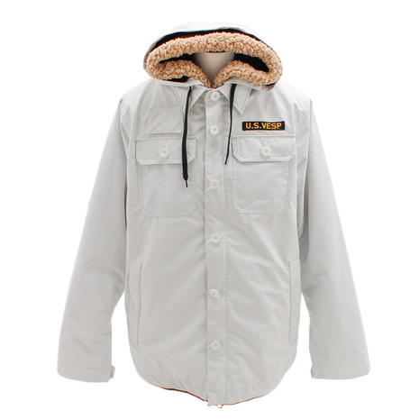 VESP THREEWAY MILITARY ジャケットIII VPMJ18-01WH スノーボードウェア メンズ (Men's)
