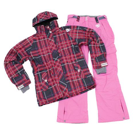 SIONYX ボードスーツ 上下セット SINW-4303 BLK/PNK (Lady's)