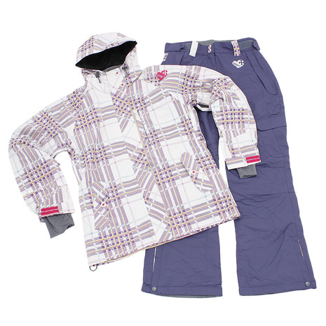 SIONYX ボードスーツ 上下セット SINW-4303 WHT/PPL (Lady's)