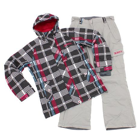 SIONYX ボードスーツ 上下セット SINW-56701 BLK/SLV (Lady's)