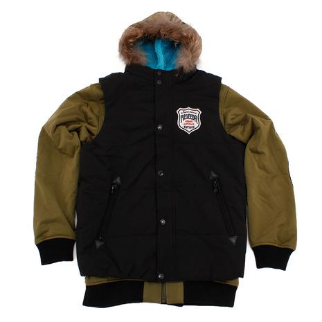 レセーダ ジュニア スキーウェア ベスト付きジャケット REJ78503 338009 (Jr)