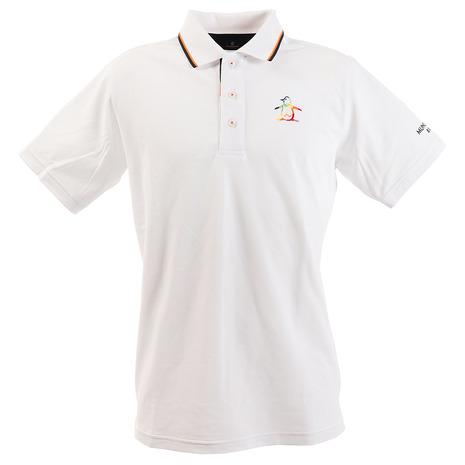 マンシングウエア(MUNSING WEAR) ポロシャツ メンズ ペルヴィアンピマ半袖シャツ MGMPJA06-WH00 (Men's)