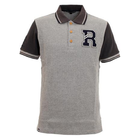 ロサーセン(ROSASEN) ポロシャツ メンズ ワッフルクレイジーポロシャツ 044-22245-013 (Men's)