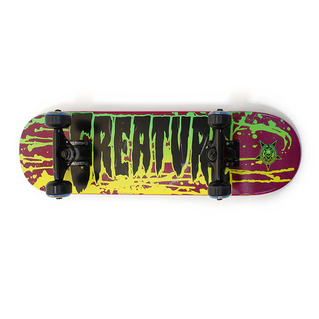 クリエーチャー スケボーコンプリートキッズ B スケートボード コンプリート (Jr)