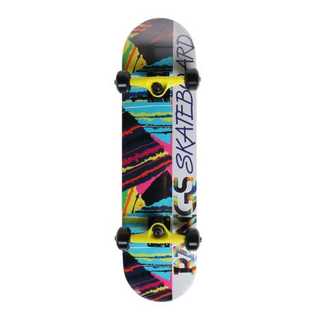 ラングスジャパン(RANGS) R1 スケートボード コンプリート スケボー 7.25 YEL ジュニア 7.25インチ (メンズ、レディース、キッズ)