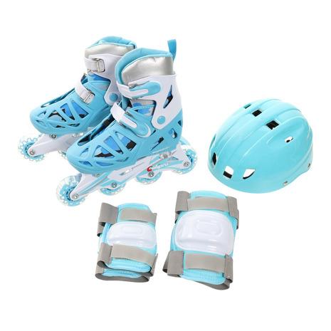 トーホー TOHO アジャスタブルインラインスケート コンボセット キッズ まとめ買い特価 全商品オープニング価格 CA-475F LBL