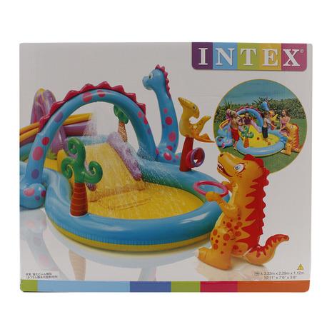 インテックス(INTEX) ディノランドプレイセンター プール 19 57135 (Men's、Lady's、Jr)
