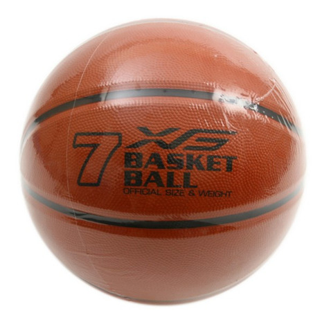 日本製 エックスティーエス XTS バスケットボール 7号球 一般 大学 高校 781G5ZK6619BRN 男子用 中学校 自主練 メンズ メーカー直売