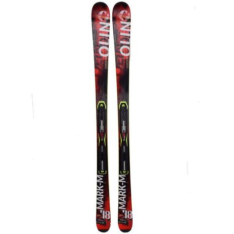 オーリン(OLIN) 【訳あり大処分特価】スキー板ビンディング付 MARK-M +SLR10M BLK/WHT 301ON6ZU1027 (Men's)