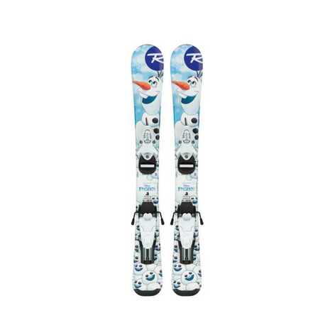 ロシニョール(ROSSIGNOL) ジュニア スキー板ビンディング付 FROZEN BABY+TEAM 4 RAHWE04 FCFA077 (Jr)
