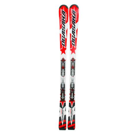 オガサカ(OGASAKA) 2016-2017 J-1+SLR7.5AC 子供スキー板 子供カービングスキー板 【専用ビンディング付き】 (Jr)