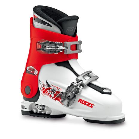 ROCES ロチェス ROCES IDEA UP 19.0-22.0cm 450491 スキーブーツ ジュニア WT/RD (Jr)