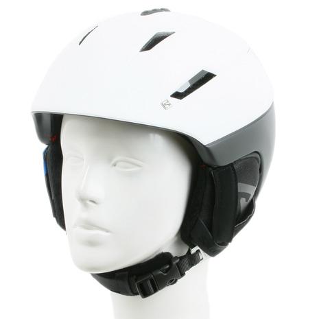 サロモン(SALOMON) 2016-2017 RANGER2 C.AIR メンズ スノーヘルメット391245 ホワイト×ブラック (Men's)