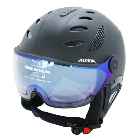 アルピナ(ALPINA) JUMP JV VHM BK BK A9203 30 スノーヘルメット A9203 (Men's) (Men's), ミヤヅシ:18c0cd1f --- sunward.msk.ru