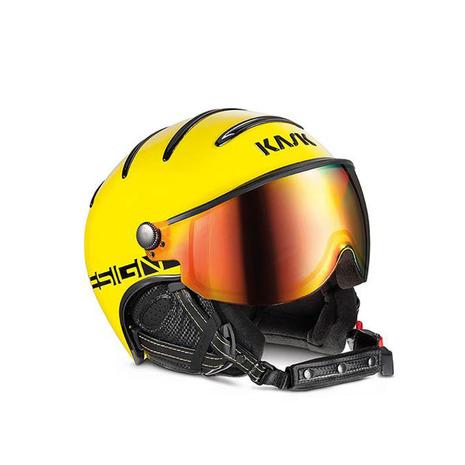 カスク(KASK) スノーヘルメット クラスモンテカルロ イエロー SHE00033.224 (Men's)