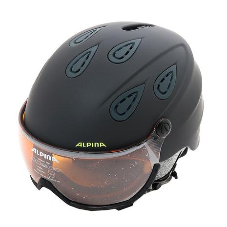アルピナ(ALPINA) GRAP VISOR 2.0 HM A9208 31 チャコール/ネオンマット (Men's)