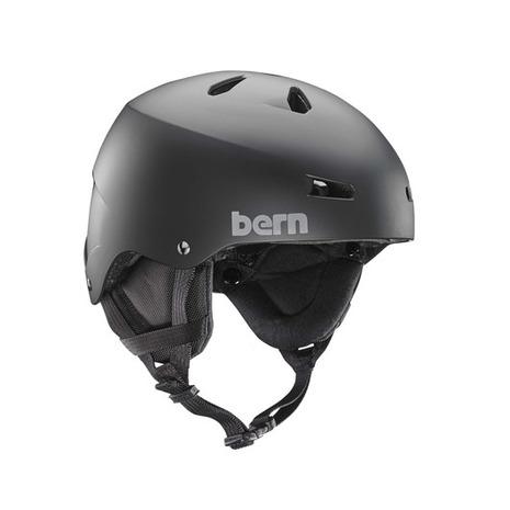 バーン(BERN) TEAM MACON MATTE BLK BE-SM22TMBLK ヘルメット スキー スノーボード (Men's)