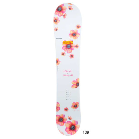 ヨネックス(YONEX) ボード板 19 デクリック WHT スノーボード 板 (Lady's)