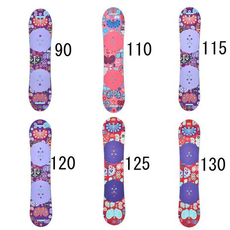 バートン(BURTON) 10734101000 ジュニア スノーボード板 CHICKLET (Jr)