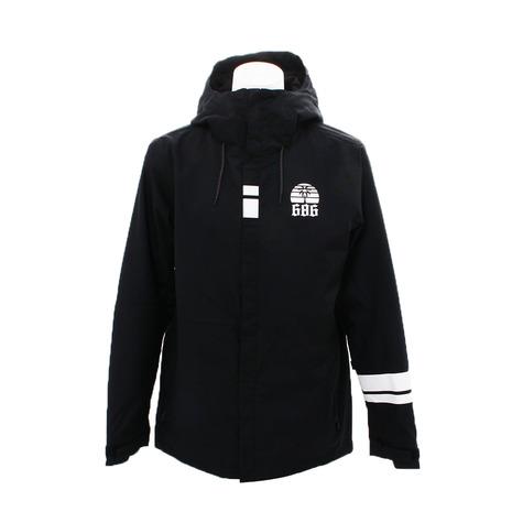 686 アジア限定 ファンデーション ジャケット L8W925 Black (Men's)