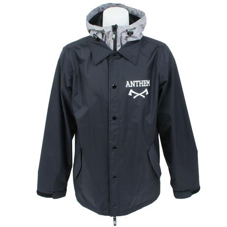 ANTHEM AN1701J AN1701J BLACK スノーボード ウェア コーチジャケット (Men's)
