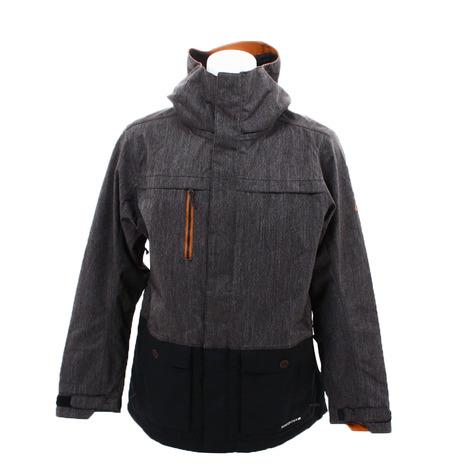 686 日本限定 アンセム シェル ジャケット L8W910 Black Denim Colorblock (Men's)