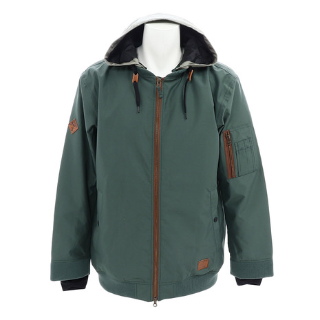 SCAPE スノーボードウェア ジャケット M FLIGHT JKT 18-19 71118311 GREEN (Men's)