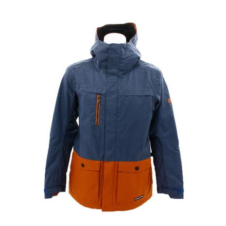 686 日本限定 アンセム シェル ジャケット L8W910 Bluesteel Colorblock (Men's)