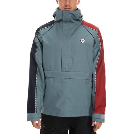 686 Catchit Anorak Track Shell Jacket L9W115 Goblin Blue (Men's)