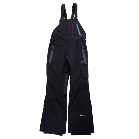 REW REALITY BIB PANTS 18 BLK (Men's)