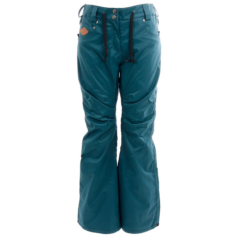 SCAPE ARES PANTS 71118338 STRETCH DARK 緑 (Lady's)