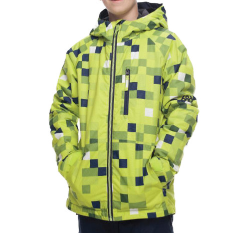 686 Jinx Insulated Jk L8W506 Lime Cube (Jr)