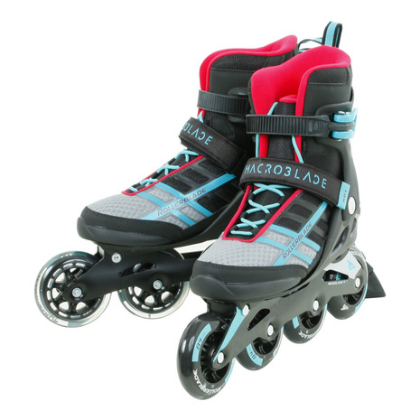 ローラーブレード インラインスケート S18 MACROBLADE 84 ABT/W EM 077345009862 (Men's、Lady's、Jr)