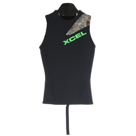 XCEL 【お買い得品!】(エクセル) XCEL BACKZIPPER 2/2 VEST AF268260 5CAM ウェットスーツ (Men's)