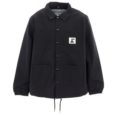 POLER SUMMIT CAMP VOLLEY コーチ ジャケット 55200200-BLK (Men's)